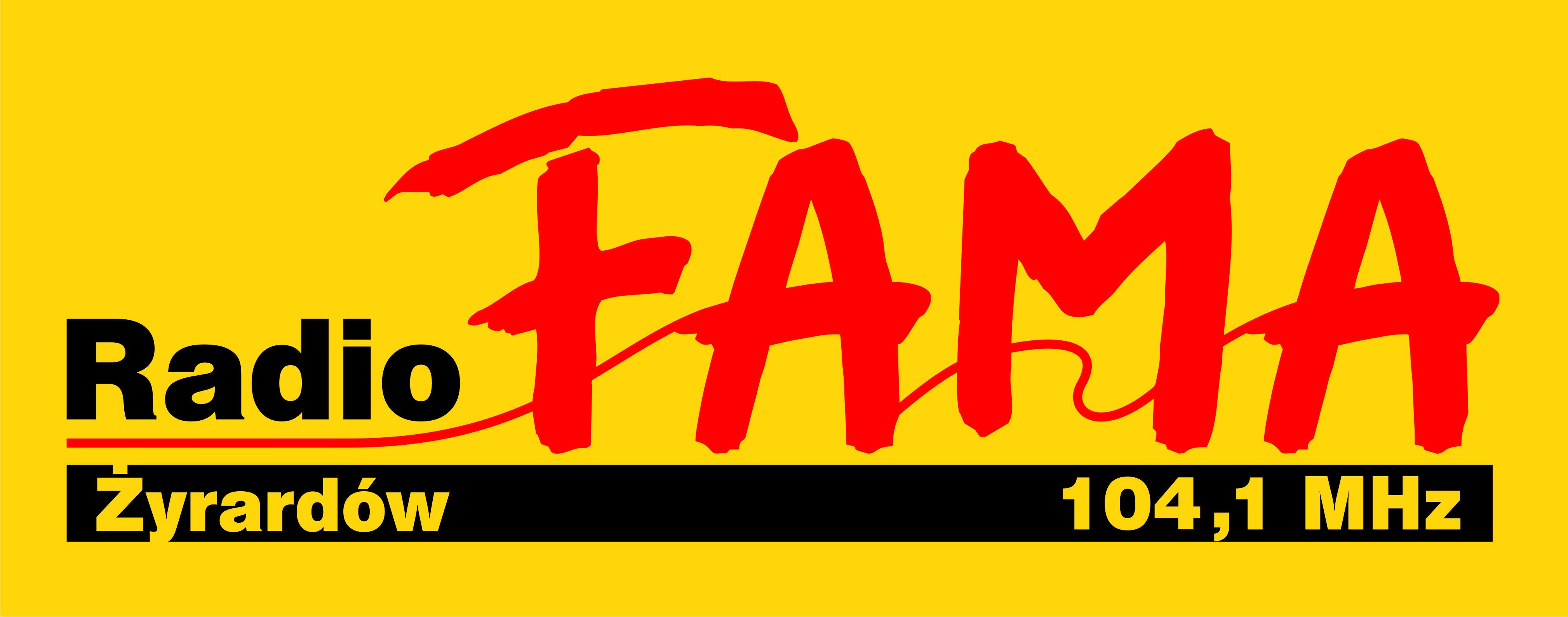 Radio FAMA logo Żyrardów główne